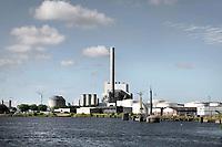 Nederland Amsterdam 2018. Bedrijven langs het Noordzeekanaal .  Foto Berlinda van Dam / Hollandse Hoogte