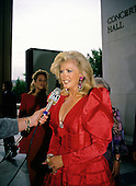 American actress, director, screenwriter and singer Connie Stevens arrives at the John F. Kennedy Center for the Performing Arts for the Joe Gibbs Charities Gala on June 20, 1989.<br /> Credit: Ron Sachs / CNP