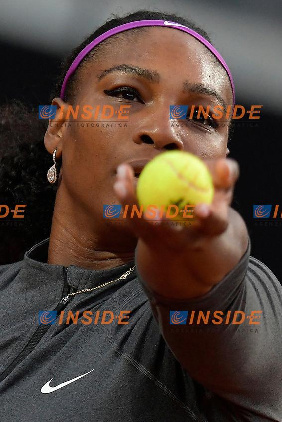 Serena Williams (USA)<br /> Roma 10-05-2016  Foro Italico<br /> Internazionali BNL d'Italia, <br /> Tennis WTA<br /> Foto Antonietta Baldassarre / Insidefoto