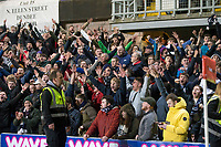 27th December 2019; Dens Park, Dundee, Scotland; Scottish Championship Football, Dundee Football Club versus Dundee United; Dundee fans  - Editorial Use