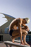 Stanford Alumni swimmer Ben Wildman-Tobriner has qualified for the 2008 Summer Olympics in Beijing, China.