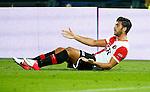 Nederland, Rotterdam, 15 september 2012.Eredivisie.Seizoen 2012-2013.Feyenoord-PEC Zwolle.Graziano Pelle van Feyenoord kijkt vragend naar de scheidsrechter.