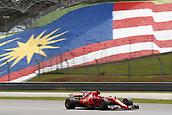 30th September 2017, Sepang, Malaysia;  FIA Formula One World Championship 2017, Grand Prix of Malaysia, #5 Sebastian Vettel (GER, Scuderia Ferrari) who will start at the back after engine failure