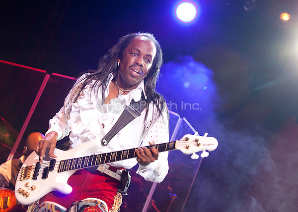 Earth Wind And Fire perform in Madrid, Spain. July 4, 2013. Credit: PPA/Unimedia/MediaPunch Inc.