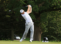 Max Orrin (ENG) on the 2nd tee during Round 1 of the Bridgestone Challenge 2017 at the Luton Hoo Hotel Golf &amp; Spa, Luton, Bedfordshire, England. 07/09/2017<br /> Picture: Golffile | Thos Caffrey<br /> <br /> <br /> All photo usage must carry mandatory copyright credit     (&copy; Golffile | Thos Caffrey)