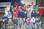 Budding rugby stars of the future that received awards at the Killorglin Rugby club juvenile awards ceremony in the Intermediate School Killorglin on Thursday evening