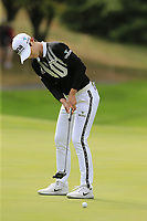 Sung Hyun Park (KOR) putts on the 8th green during Thursday's Round 1 of The Evian Championship 2018, held at the Evian Resort Golf Club, Evian-les-Bains, France. 13th September 2018.<br /> Picture: Eoin Clarke | Golffile<br /> <br /> <br /> All photos usage must carry mandatory copyright credit (&copy; Golffile | Eoin Clarke)