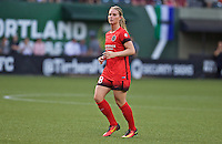 Portland, Oregon - Wednesday June 22, 2016: Portland Thorns FC midfielder Amandine Henry (28) during a regular season National Women's Soccer League (NWSL) match at Providence Park.