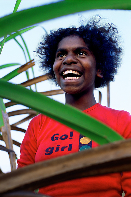 Nichaela Yarrak, Sara Clan group, Aurukun, Cape York Peninsula.