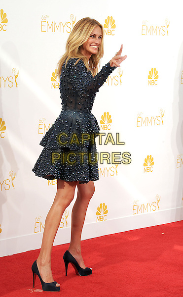 LOS ANGELES, CA- AUGUST 25: Actress Julia Roberts arrives at the 66th Annual Primetime Emmy Awards at Nokia Theatre L.A. Live on August 25, 2014 in Los Angeles, California.<br /> CAP/ROT/TM<br /> &copy;Tony Michaels/Roth Stock/Capital Pictures