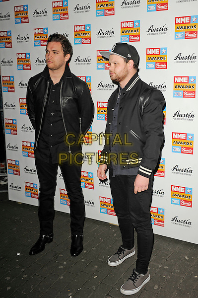 LONDON, ENGLAND - FEBRUARY 18: Royal Blood attending the NME Awards at Brixton Academy on February 18 2015 in London, England.<br /> CAP/MAR<br /> &copy; Martin Harris/Capital Pictures