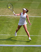 26-06-13, England, London,  AELTC, Wimbledon, Tennis, Wimbledon 2013, Day three, Petra Celkovska (CZE)<br /> <br /> <br /> <br /> Photo: Henk Koster