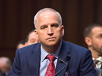National Geospatial-Intelligence Agency (NGA) Director Robert Cardillo testifies before the United States Senate Committee on Intelligence during a hearing to examine worldwide threats on Capitol Hill in Washington, DC on Tuesday, February 13, 2018<br /> Credit: Ron Sachs / CNP /MediaPunch