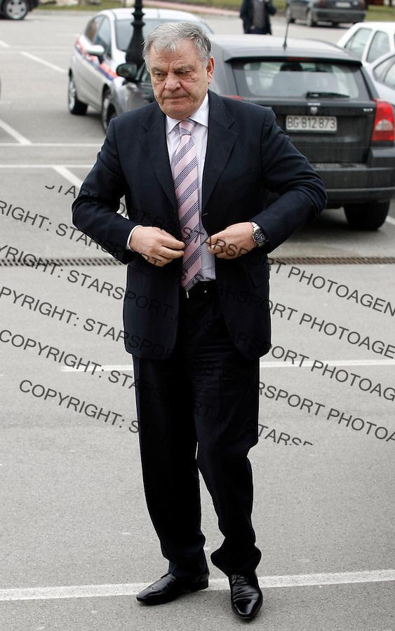 Tomislav Tole Karadzic Kovilovo okupljanje reprezentativaca reprezentacija fudbal 1.3.2010. ( photo & copyright Pedja Milosavljevic / thepedja@gmail.com / +381641260959 )