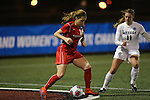 SALEM, VA - DECEMBER 3:Katie Chandler (16) and Summerly Merson (11) battle for the ball during theDivision III Women's Soccer Championship held at Kerr Stadium on December 3, 2016 in Salem, Virginia. Washington St Louis defeated Messiah 5-4 in PKs for the national title. (Photo by Kelsey Grant/NCAA Photos)