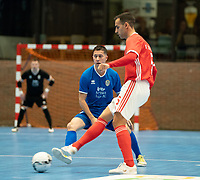 20191012 - HALLE: Benfica's Fabio Cecilio is pictured during the UEFA Futsal Champions League Main Round match between FP Halle-Gooik (BEL) and SL Benfica (POR) on 12th October 2019 at De Bres Sportcomplex, Halle, Belgium. PHOTO SPORTPIX | SEVIL OKTEM