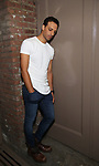 Ari'el Stachel during his Broadway Debut Photo Shoot at the Barrymore Theatre on October 13, 2017 in New York City.