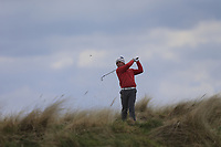 Robert Moran (Castle Golf Club) during the first round of matchplay at the 2018 West of Ireland, in Co Sligo Golf Club, Rosses Point, Sligo, Co Sligo, Ireland. 01/04/2018.<br /> Picture: Golffile | Fran Caffrey<br /> <br /> <br /> All photo usage must carry mandatory copyright credit (&copy; Golffile | Fran Caffrey)