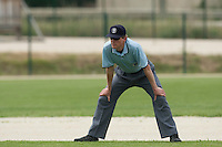 21 May 2009: Umpire Thomas Haywood is seen during the 2009 challenge de France, a tournament with the best French baseball teams - all eight elite league clubs - to determine a spot in the European Cup next year, at Montpellier, France.