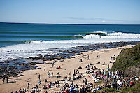 Classic J-Bay line up.  JEFFREYS BAY, South Africa (Wednesday, July 15, 2009) - The final day of the Billabong Pro Jeffreys Bay was called on today  with four-to-six (1 - 1.5 metre) waves      Event No. 5 of 10 on the 2009 ASP World Tour, the Billabong Pro Jeffreys Bay is coming off an historic day of competition that saw cranking surf, perfect scores and some major upsets. Today's culmination was to crown JOEL PARKINSON (AUS) as the Billabong Pro champion. Parkinson defeated DAMIEN HOBGOOD (USA) in the 35 minute final and gained valuable points in the 2009 ASP World Title race.         Photo: joliphotos.com