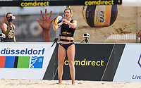 19th July 2020; Dusselldorf, Germany; Comdirect beach volleyball tour;  Laura Ludwig