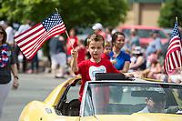 NWA Democrat-Gazette/BEN GOFF @NWABENGOFF<br /> Bella Vista celebrates Independence Day Thursday, July 4, 2019, during the Bella Vista Patriots Parade at Sugar Creek Shopping Center.