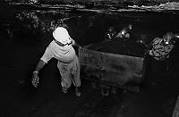 Miners at work inside an underground mine at North Searsole Coliery in Ranigunj, West Bengal, India. Arindam Mukherjee