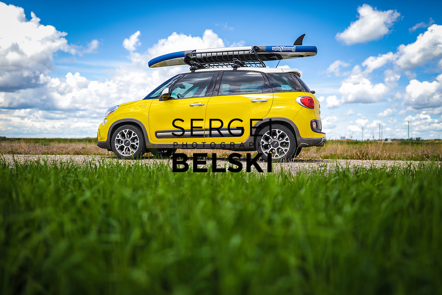 Fiat SUP at Chestermere Lake. Photo Credit: Sergei Belski