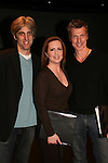 Zak Berkman (director of theatre), Martha Byrne & Paolo Seganti at the ATWT reunion to benefit Epic Theatre Ensemble after-school Bridge Projects - As The Epic Turns - on April 17 & 18, 2009 at The Peter Jay Sharp Theatre, NYC. (Photo by Sue Coflin/Max Photos)