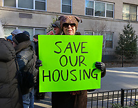JAN 17 Greenwich Village Residents Protest Proposed Skyscaper on Landmark Building