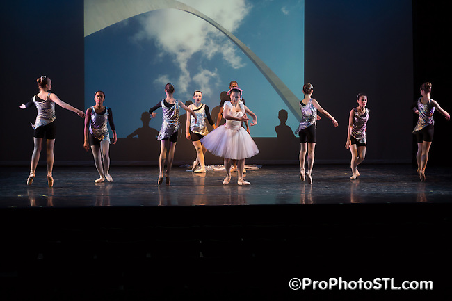 The Little Dancer dance show presented by COCA in St. Louis, MO on Dec 10, 2014