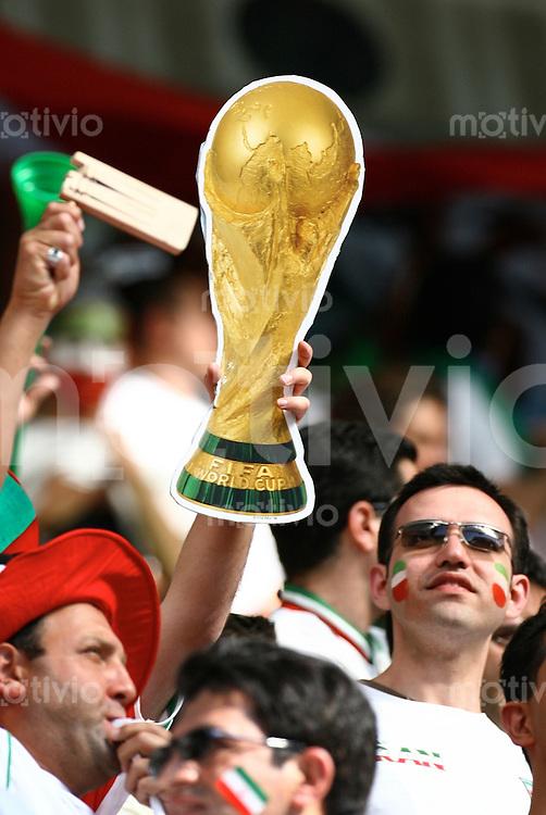 FussballInternational WM 2006 Vorrunde Mexiko-Iran WM Pokal