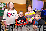 Saoirse Nolan, Conor Murphy, Rachel O'Sullivan, Iarla O'Niell from Lauragh NS Killarney  at the Chapter 23 Credit Union Schools Quiz finals at Ballyroe Heights Hotel on Sunday