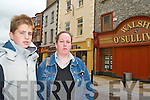 LOCATE AT MANOR: Dominic and Martina Long from Castleisland want Marks and Spencer to be brought to Manor Shopping Centre. .
