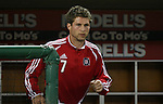 01 November 2007: Chicago's Logan Pause. The Chicago Fire tied DC United 2-2 in the second leg of their Major League Soccer Eastern Conference Semifinal playoff series at RFK Stadium in Washington, DC. The Fire advanced to the next round, winning the series 3-2 on aggregate goals.