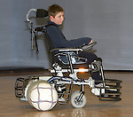 Pix: Shaun Flannery/sf-pictures.com..COPYRIGHT PICTURE>>SHAUN FLANNERY>01302-570814>>07778315553>>..21st January 2008..............Coalfields Regeneration Trust (CRT)........Nottinghamshire Powerchair Football Club, wheelchair football.