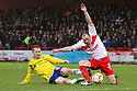 Gary McSheffrey of Coventry tackles David Gray of Stevenage. Stevenage v Coventry City - npower League 1 - Lamex Stadium, Stevenage - 26th December, 2012. © Kevin Coleman 2012......