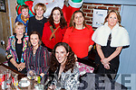 Volunteers from Oxfam enjoying their night out in Croi<br /> Seated l-r, Annzie Brosnan, Eileen Cullinane and Helena Houlihan.<br /> Back l-r, Nora Casey, Kay O&rsquo;Connor, Marien Rohan, Sam Desildes and Ann McAuliffe.