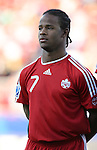 01 July 2007: Canada's Jaime Peters. At the National Soccer Stadium, also known as BMO Field, in Toronto, Ontario, Canada. Chile's Under-20 Men's National Team defeated Canada's Under-20 Men's National Team 3-0 in a Group A opening round match during the FIFA U-20 World Cup Canada 2007 tournament.