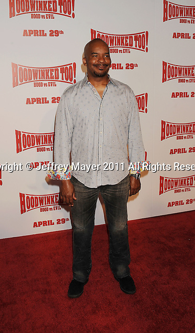 """LOS ANGELES, CA - APRIL 16: David Alan Grier arrives at """"Hoodwinked Too! Hood Vs Evil"""" Los Angeles premiere at Pacific Theatres at The Grove on April 16, 2011 in Los Angeles, California."""
