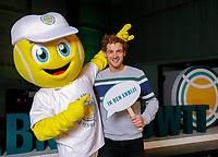 Rotterdam, Netherlands, Oktober 28,  2019, Tennis meets Business, Speaker Jamie Trinite with Bally<br /> Photo: Tennisimages/Henk Koster