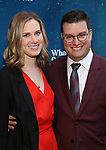 "Alyssa Ross and Matt Ross attending the Broadway Opening Night Performance of  ""What The Constitution Means To Me"" at the Hayes Theatre on March 31, 2019 in New York City."