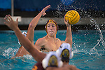 BERKELEY, CA - DECEMBER 04:  Grant Stein (15) of the University of Southern California shoots the ball during the Division I Men's Water Polo Championship held at the Spieker Aquatics Complex on December 04, 2016 in Berkeley, California.  Cal defeated USC 11-8 for the national title. (Photo by Justin Tafoya/NCAA Photos via Getty Images)