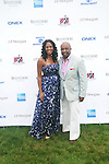 Christina Lewis and Mike Muse Attend The Fourth Annual Reginald F. Lewis Foundation Gala Luncheon Held at The Reginald F. Lewis Estate, East Hampton New York, 6/25/11