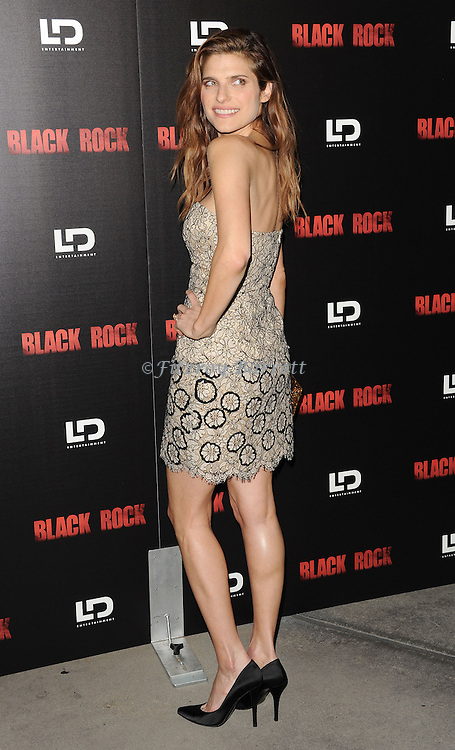 "Lake Bell at the screening of ""Black Rock"" held at the Arclight Theatre in Los Angeles, CA. on May 8, 2013."