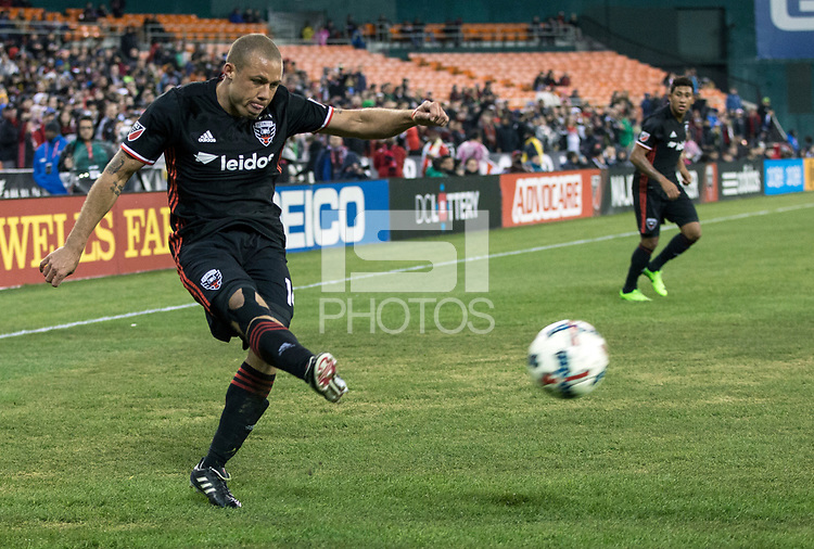 Washington,D.C. - Saturday, March 18, 2017: Columbus Crew SC defeated the D.C. United 2-0 in a MLS match at RFK Stadium.