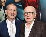 Tom Kirdahy and Terrence McNally attends the Broadway Opening Night performance of 'Bandstand' at the Bernard B. Jacobs Theatre on 4/26/2017 in New York City.