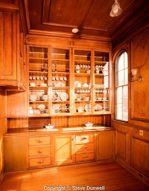 pantry at John Nicholas Brown house, Providence, RI, ROV-333,