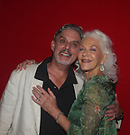 """Linda Thorson (One Life To Live) stars in """"Blithe Spirit"""" with Carl Wallnau on opening night - July 24. 2016 at the Pennsylvania Shakespeare Festival in Center City, Pennsylvania. (Photo by Sue Coflin/Max Photos)"""