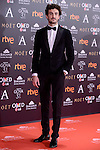 Miki Esparto attends to the Red Carpet of the Goya Awards 2017 at Madrid Marriott Auditorium Hotel in Madrid, Spain. February 04, 2017. (ALTERPHOTOS/BorjaB.Hojas)